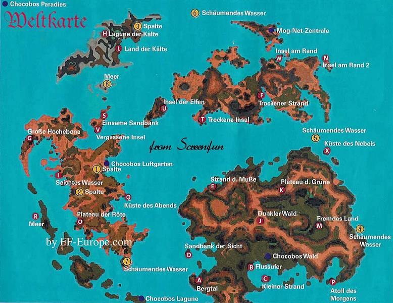 Weltkarte | FinalCraft.com